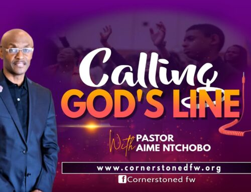 CALLING GOD'S LINE